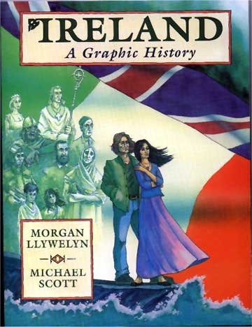 Buchcover Ireland, a Graphic History